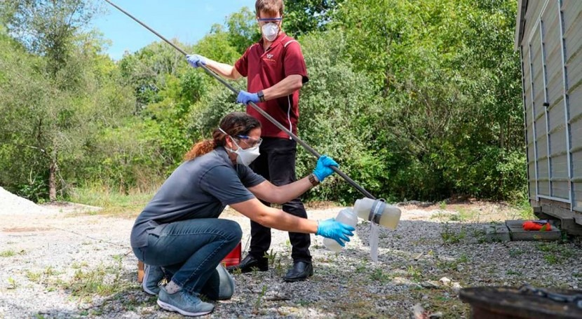 Virginia Tech researchers begin testing campus wastewater for COVID-19