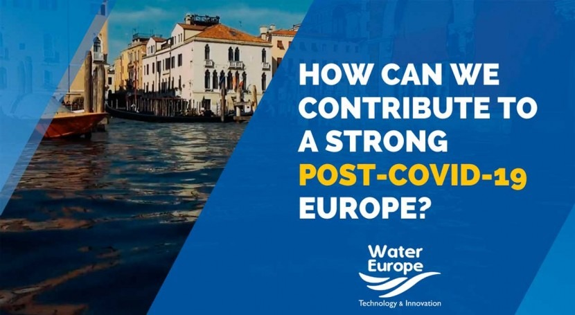 Water Europe releases position paper on post-COVID-19 recovery plan