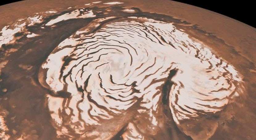 Why is there little water left on Mars?