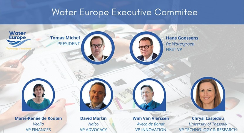Water Europe Executive Committee elected