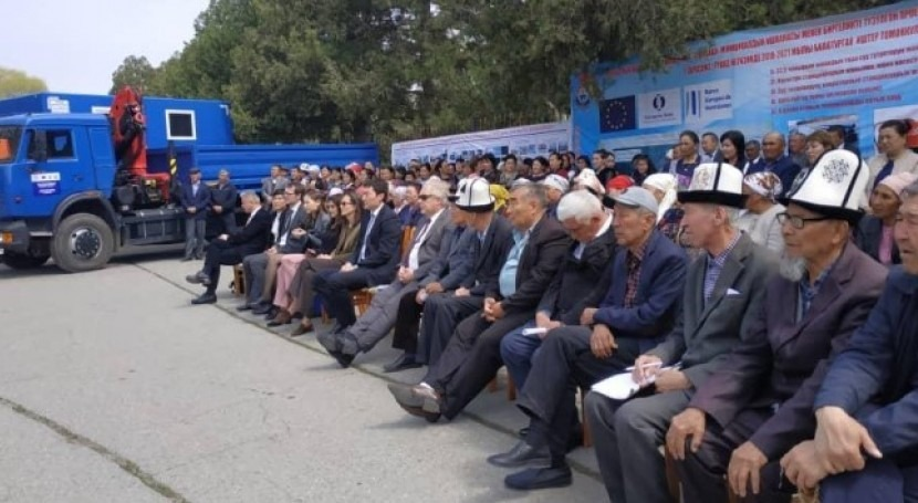 €6 million financing from EBRD, EIB and EU to support water supply in Kyrgyz Republic